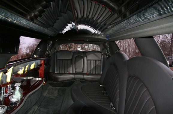 Atlanta Party Bus LLC - Interior Black Stretch Limo