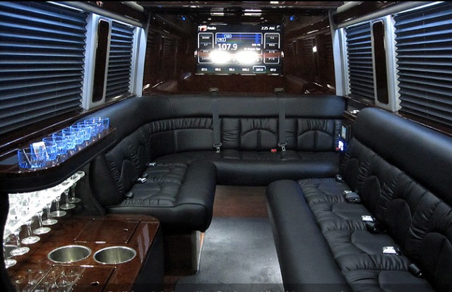 Atlanta Party Bus LLC - Interior Mercedes Sprinter Party Bus